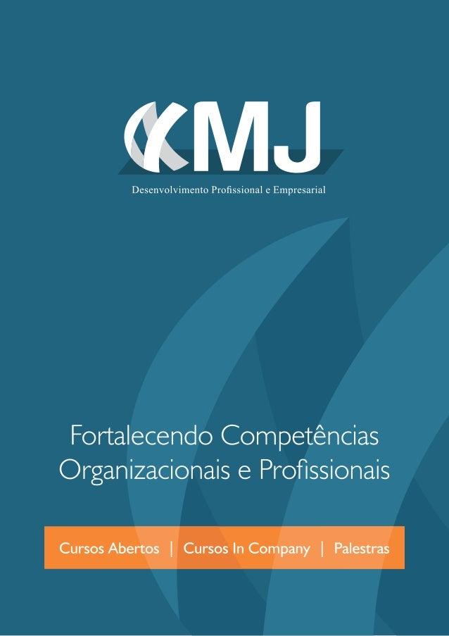 Portfólio MJ Capacitações - 2013