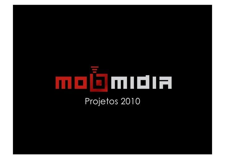 Projetos 2010