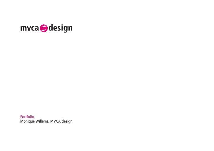 PortfolioMonique Willems, MVCA design
