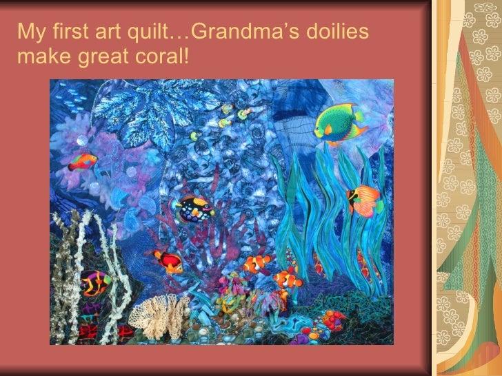 Portfolio Of Art Quilts : how to make art quilts - Adamdwight.com