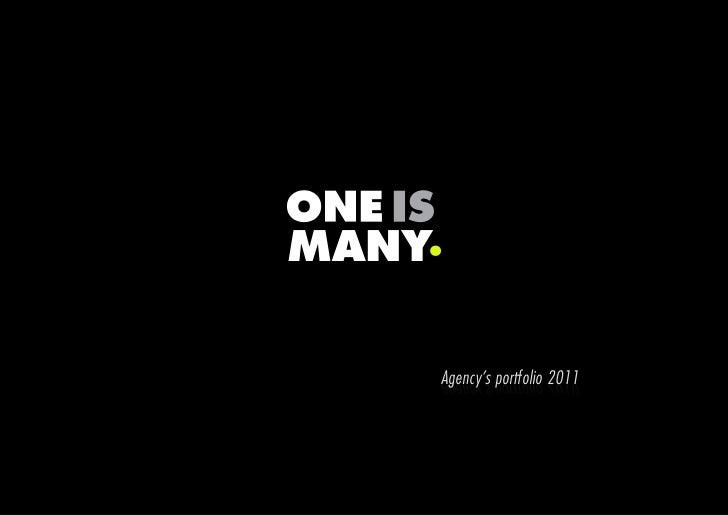 Agency's portfolio 2011Agency Portfolio 2010