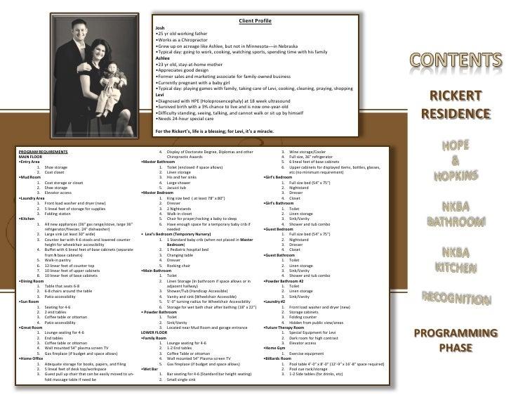 interior design portfolio rh slideshare net interior design client profile example