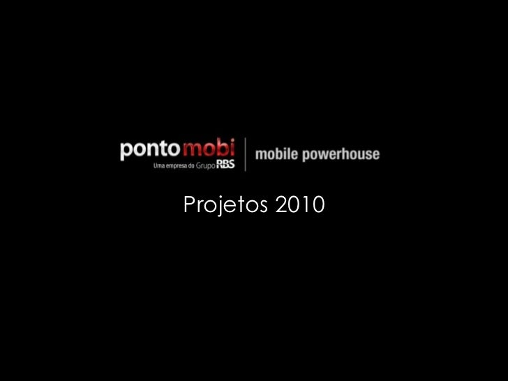 Projetos 2010<br />