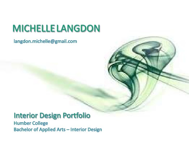 Michelle Langdon Interior Design Portfolio
