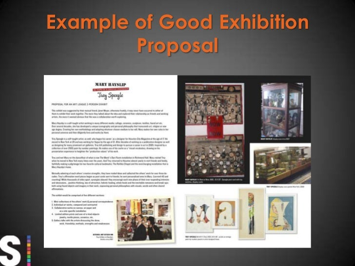 how to write an exhibit