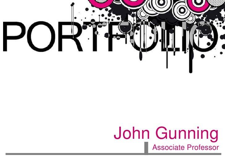 John Gunning    Associate Professor