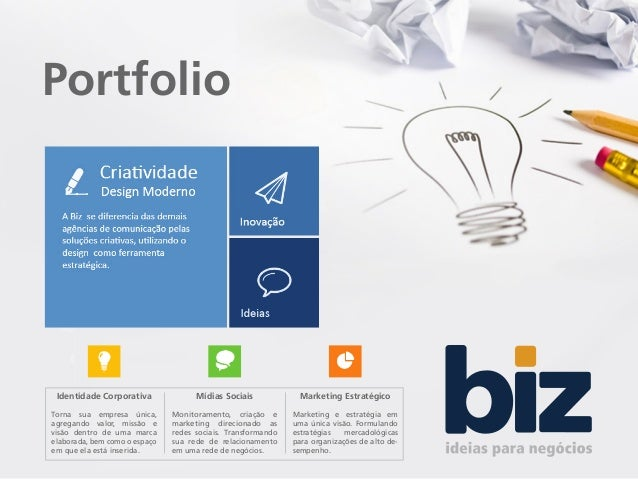 ffae357b48 Portfolio Identidade Corporativa Mídias Sociais Marketing Estratégico Torna  sua empresa única