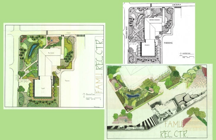 University recreational facility landscape design for Garden design university