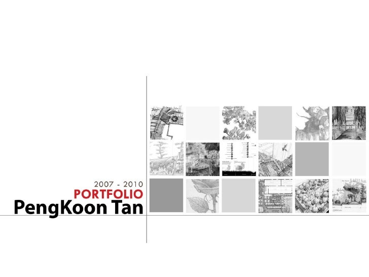 Pengkoon tan landscape architecture portfolio 2010 for Best garden design books uk