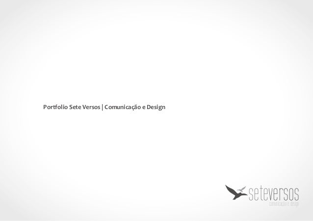 Portfolio Sete Versos | Comunicação e Design seteversoscomunicação e design