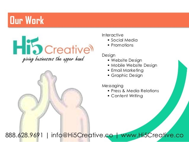 Our Work                                        Interactive                                            Social Media      ...