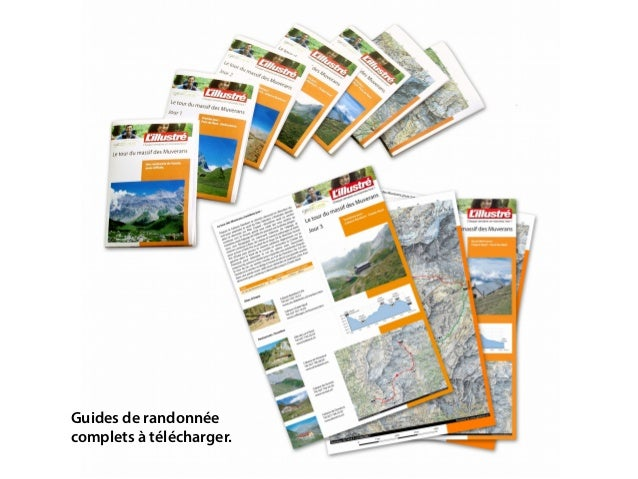 Guides de randonnée complets à télécharger.