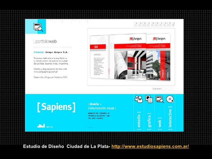 Portfolios web de estudios de dise o arquitectura y for Estudios de arquitectura la plata