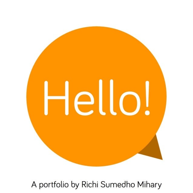 Hello! (A portfolio by Richi S. Mihary)
