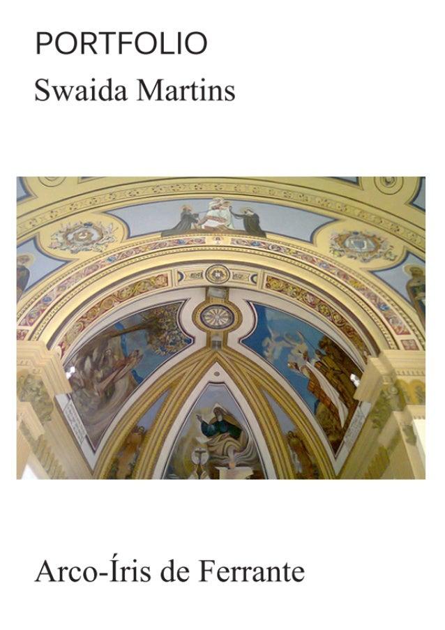 Portfolio de Arte Sacra por Swaida Martins