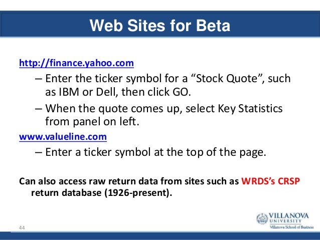 Mba 8480 Portfolio Theory And Asset Pricing