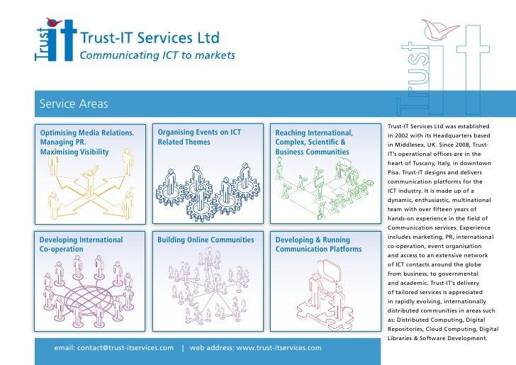 Service Areas                                                                                               Trust-IT Servi...
