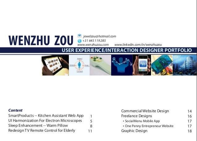 WENZHU ZOU                                        jewelzou@hotmail.com                                        +31 645 119 ...