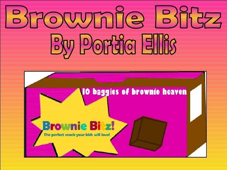 Brownie Bitz By Portia Ellis