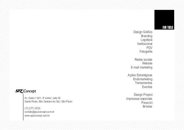 Portfólio SPZ|Concept, mais que um conceito é concept 2014