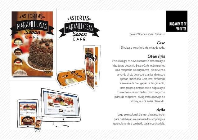 CO-BRANDING Cliente Seven Wonders Café, Salvador Case Firmar e divulgar a marca Seven Wonder Café, atrelando marcas de ren...