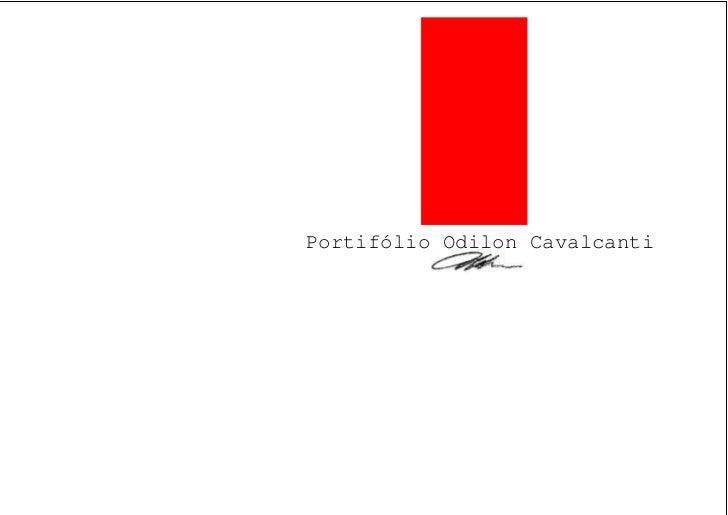 Portifólio Odilon Cavalcanti