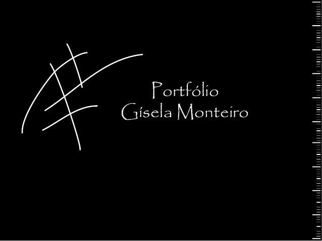 PortfólioGísela Monteiro
