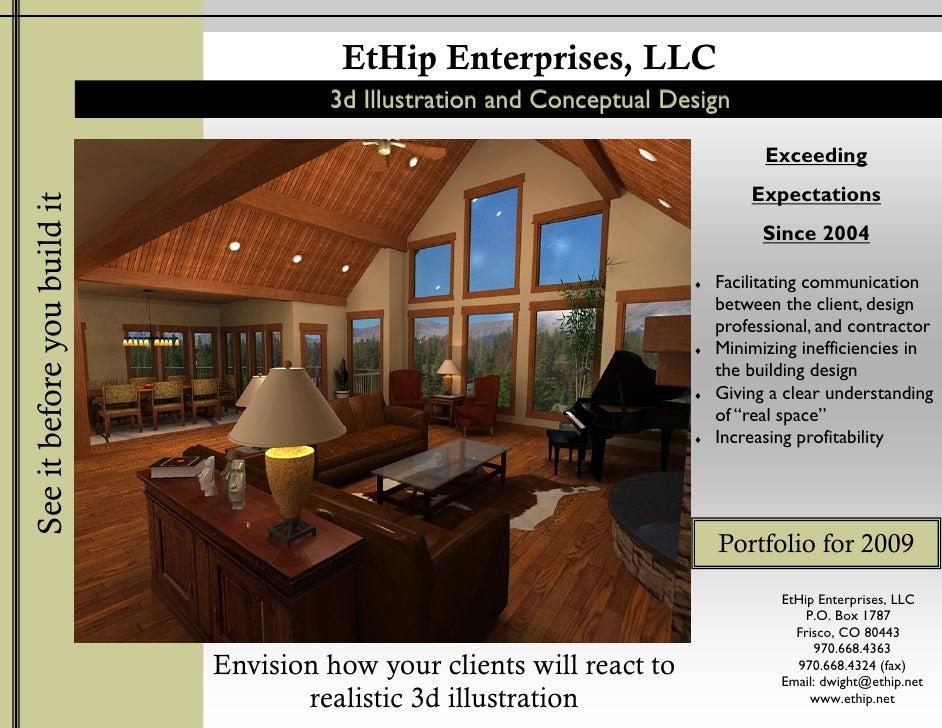 EtHip Enterprises, LLC                                       3d Illustration and Conceptual Design                        ...