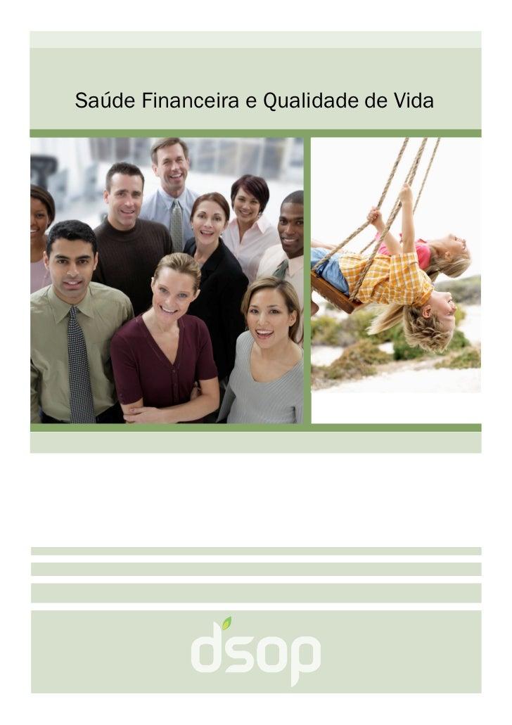 Saúde Financeira e Qualidade de Vida