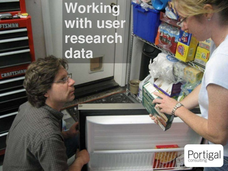 Working with user research data<br />