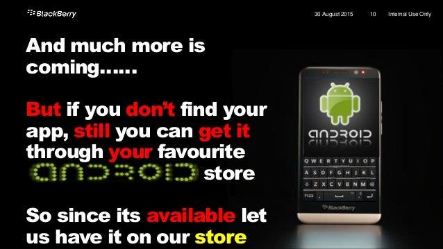 LET'S ROCK IT Kareem ElSayed Application Development Advisor - EMEA kelsayed@blackberry.com @kemobyte
