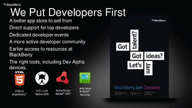 We Put Developers First A better app store to sell from Direct support for top developers Dedicated developer events A mor...