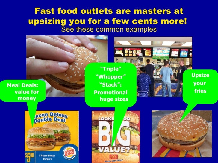 Negatives Of Fast Food