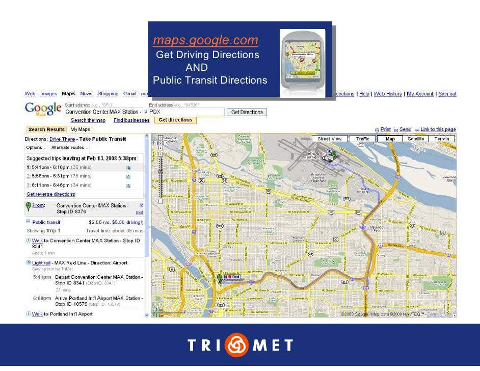 maps.google.com maps.google.com Get Driving Directions  Get Driving Directions        AND         AND Public Transit Direc...