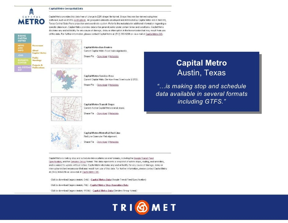 """Capital Metro        Capital Metro        Austin, Texas         Austin, Texas """"…is making stop and schedule  """"…is making s..."""