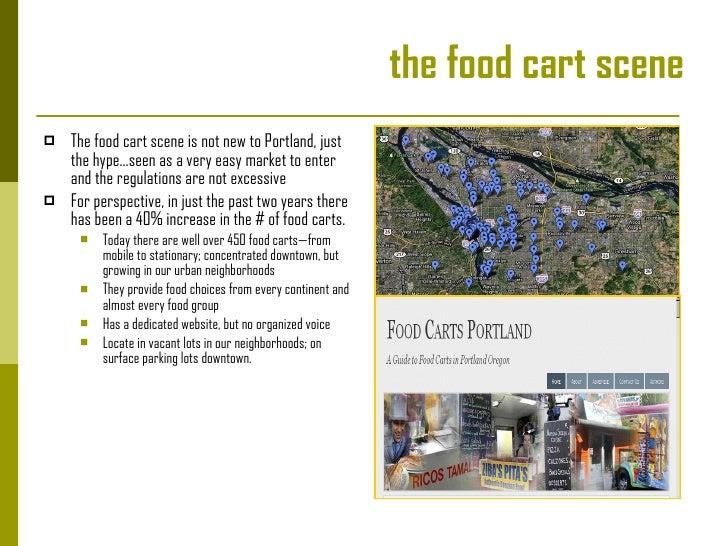 Portland, Oregon:  Food Carts  Slide 2