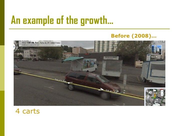 Portland, Oregon:  Food Carts  Slide 3
