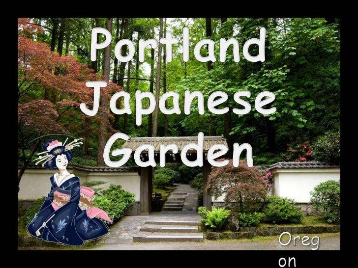 Portland<br />Japanese Garden<br />Oregon<br />