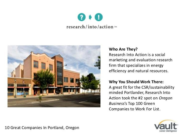 Who Are They?<br />Research Into Action is a social marketing and evaluation research firm that specializes in energy effi...