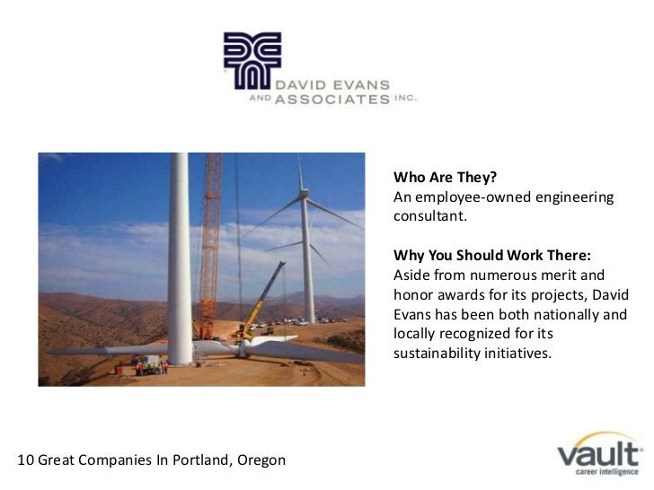 Who Are They?<br />An employee-owned engineering consultant.<br />Why You Should Work There:<br />Aside from numerous meri...