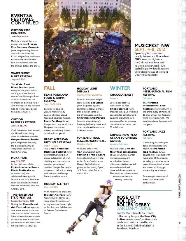Portland Visitor's Guide
