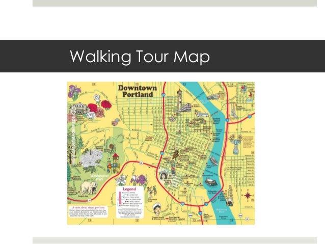portland walking tour map Portland Walking Tour 2013 portland walking tour map