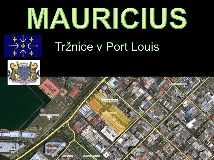 Tržnice v Port Louis