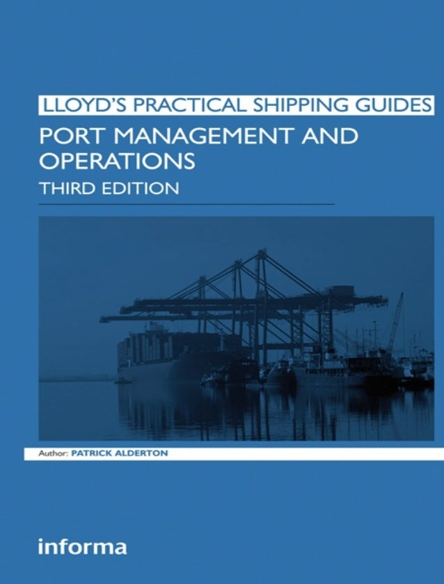Port Management and Operations Third Edition