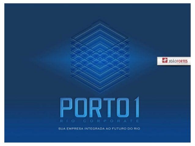 Porto 1 Rio Corporate, Lançamento da João Fortes, Porto Maravilha, Apartamentos no Rio, 2556-5838