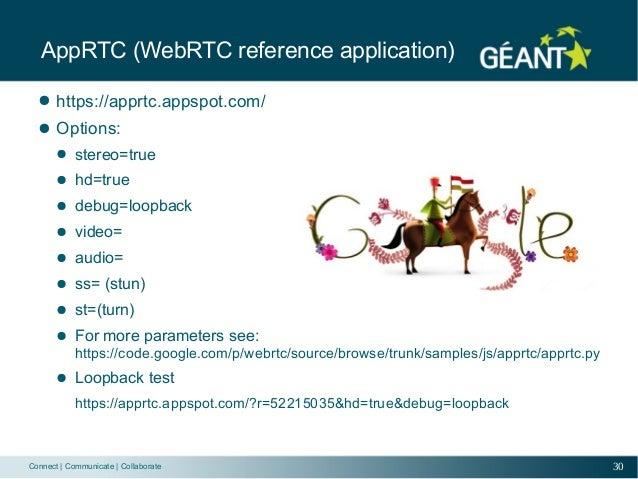 WebRTC eduCONF
