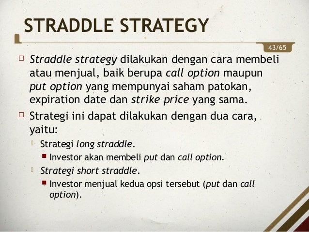 strategi berbeda untuk opsi