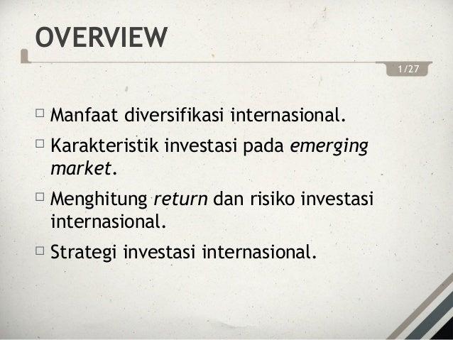 diversifikasi adalah strategi investasi untuk melakukan apa