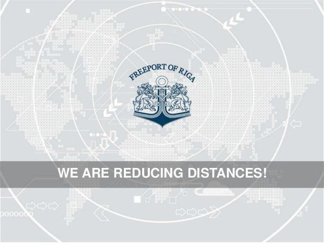 WE ARE REDUCING DISTANCES!