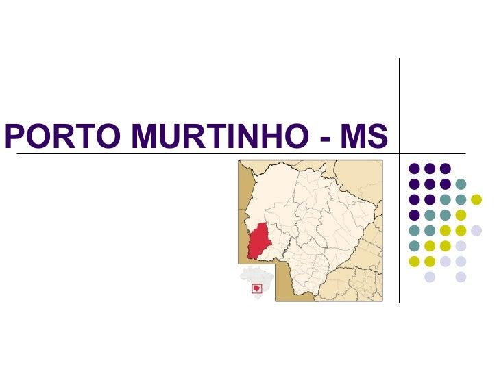 PORTO MURTINHO - MS
